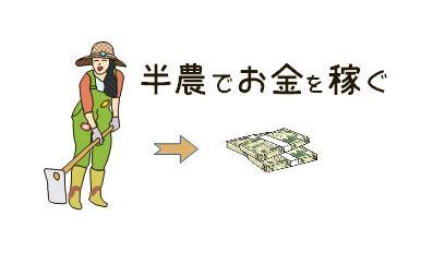 半農でお金を稼ぐ