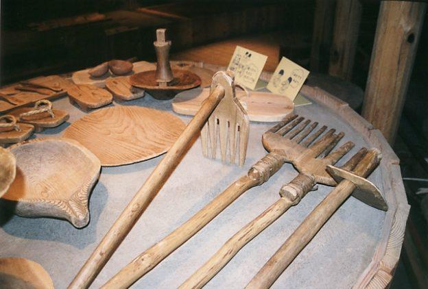 木製農具イメージ写真