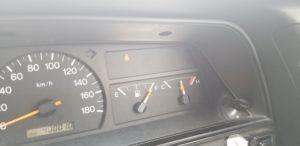 自動車水温計
