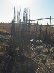建設中の畑版ダークストア